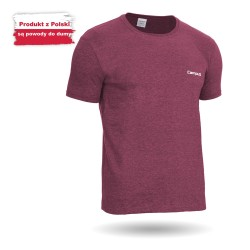 Koszulka z krótkim rękawem męska bawełniana - CONNOR CAMPUS