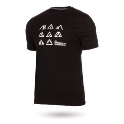 Koszulka z krótkim rękawem męska bawełniana - HJALMAR CAMPUS