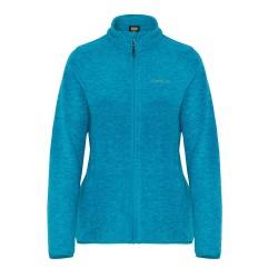 Bluza polarowa damska z zamkiem - SAGA CAMPUS