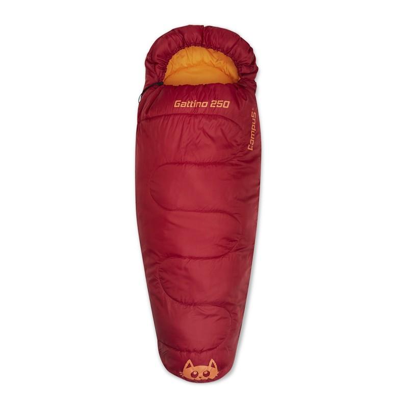Śpiwór dziecięcy mumia z kapturem - GATTINO 250 CAMPUS
